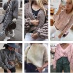 модные вязаные вещи