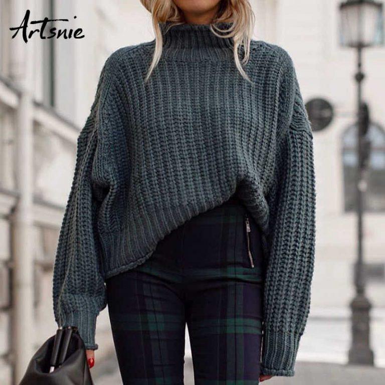 Простой свитер схема