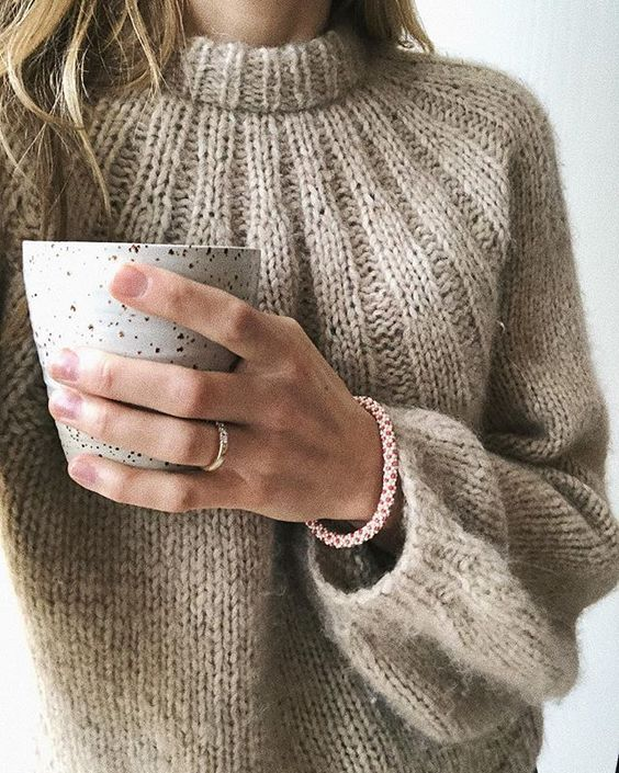 вязание свитера с описанием